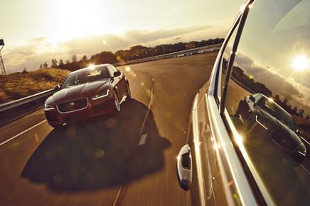 Jaguar XE shoot