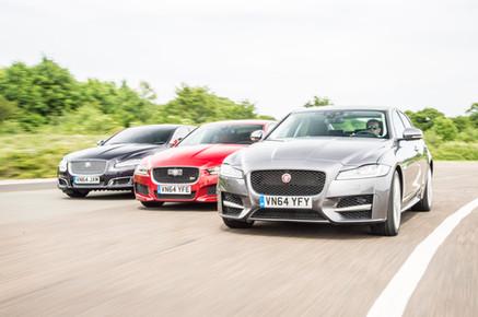 Jaguar XE, XF, XJ