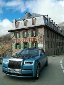 Rolls Royce Phantom VIII shoot Switzerland