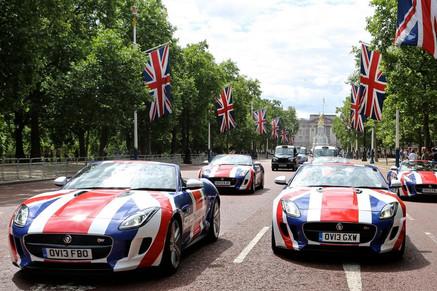 Jaguar Your turn Britain filming