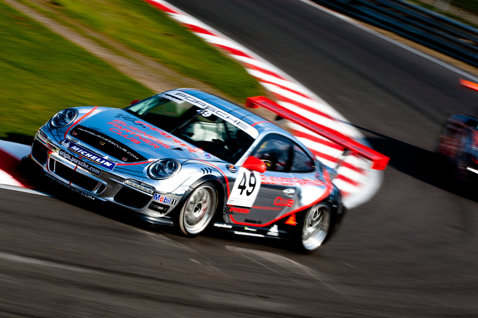 Porsche Carrera cup GB Brands hatch
