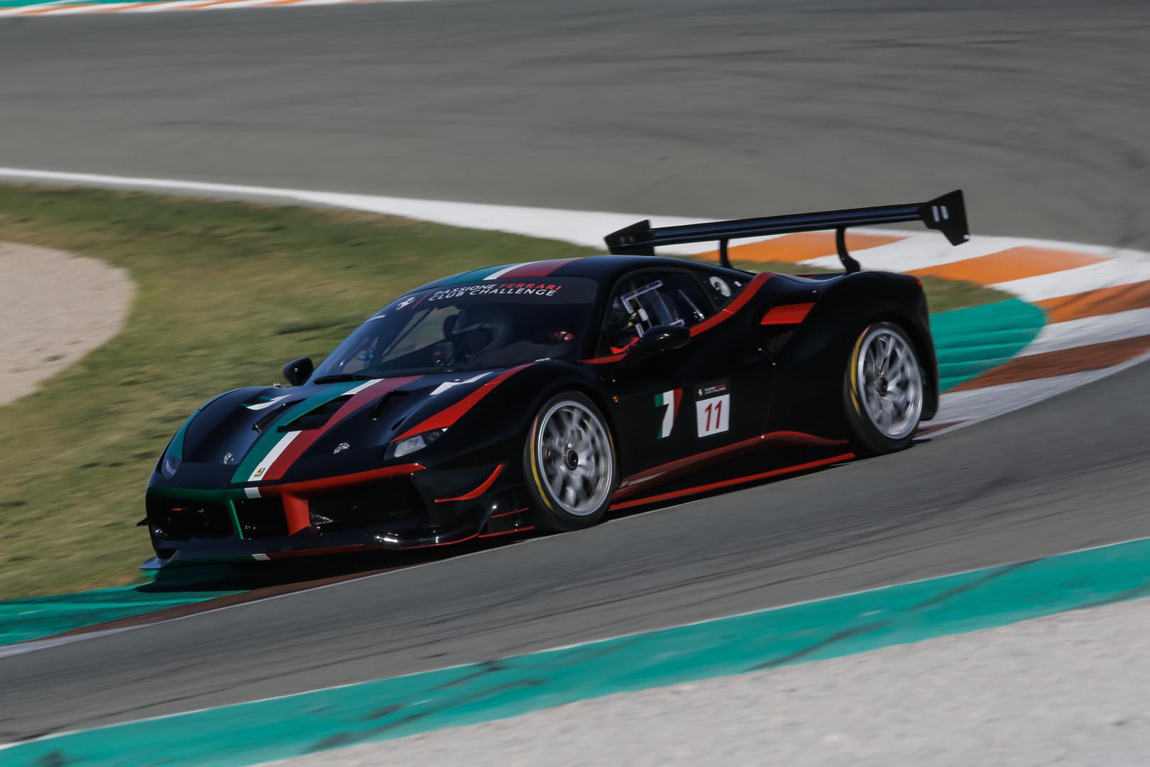 Ferrari 488 Valencia