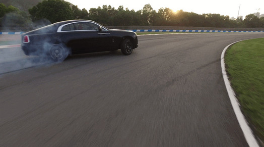Drifting with Drone, Rolls Royce motor cars China commerical,
