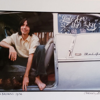 Bid on Jackson Browne by Henry Diltz