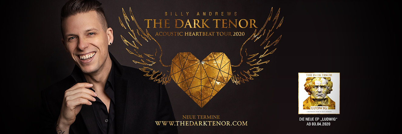 The Dark Tenor - Billy Andrews Acoustic Heartbeat Tour 202