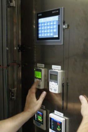 Integrated UL panel that operates the blower system