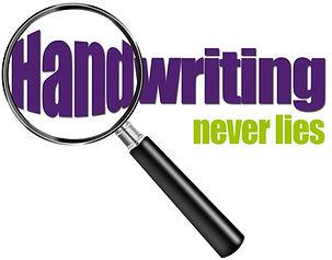 Handwriting Never Lies small logo green.