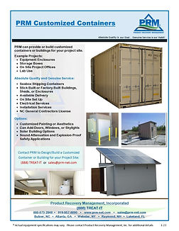 PRM can design and build a system to fit into the aesthetics of your project site.
