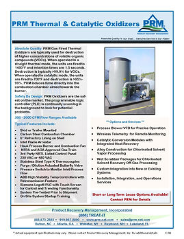 PRM has been manufacturing oxidizers for the remediation market for over 15 years