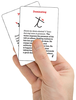 Handwriting Revealed Cards