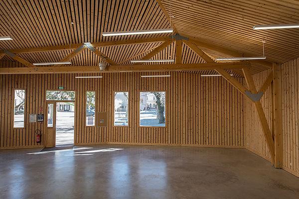 Architecture Salle multiactivité Bois St