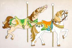 CAROUSAL HORSE DUO