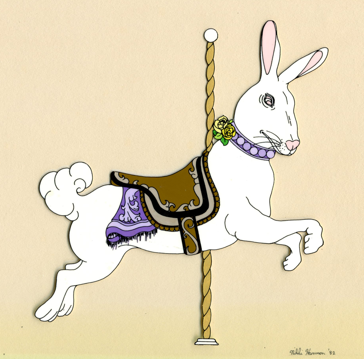 CAROUSEL RABBIT