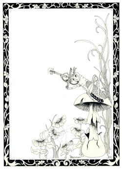 Fiddler on the Mushroom