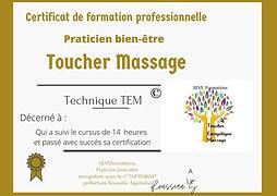 Certificat de formation professionnelle