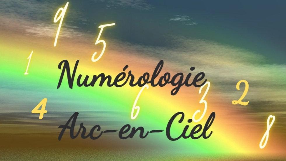 Numérologie Arc-en-ciel