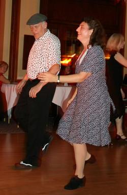 Glenn Hurst swing dance teachers
