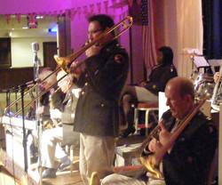 Glenn Hurst trombone soloist