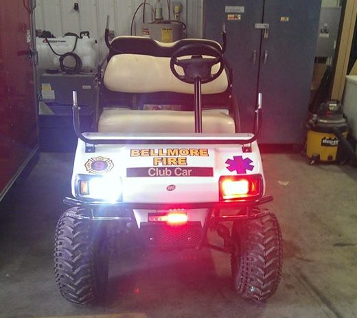 Rescue Golf Cart