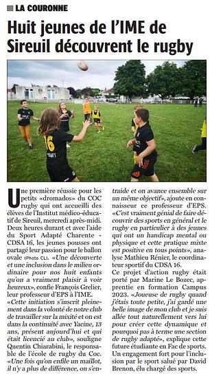 article de presse COC Rugby.PNG