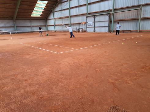Reprise du tennis adapté
