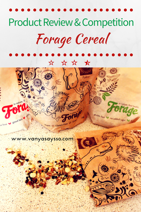 Forage Paleo Cereal Review and Competition