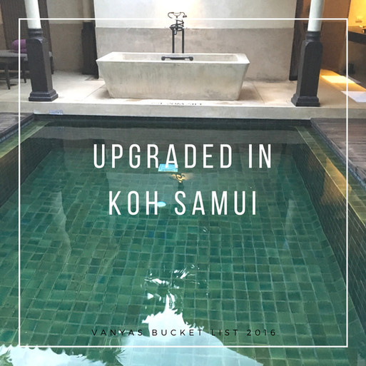 Upgraded in Koh Samui - Le Meridian Hotel Review