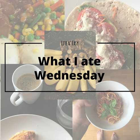 What I ate Wednesday {30 Mar}