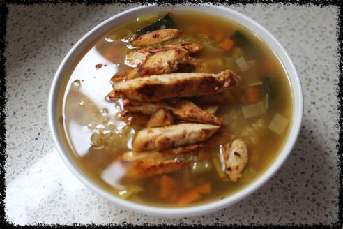 Cozy Quinoa and Chicken Soup