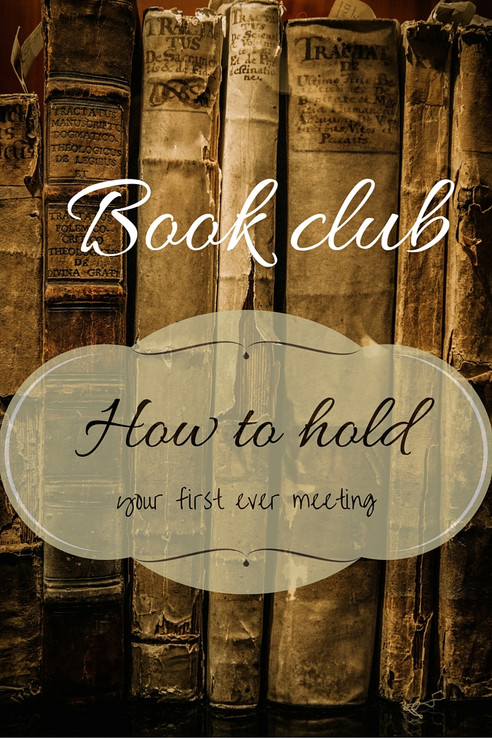 How to hold your 1st ever Book Club Meeting