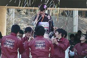 立命館大学体育会弓道部 卒業式