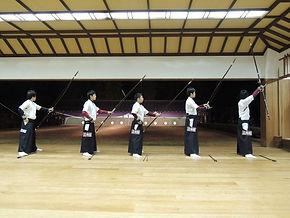 立命館大学体育会弓道部 東西対抗練習