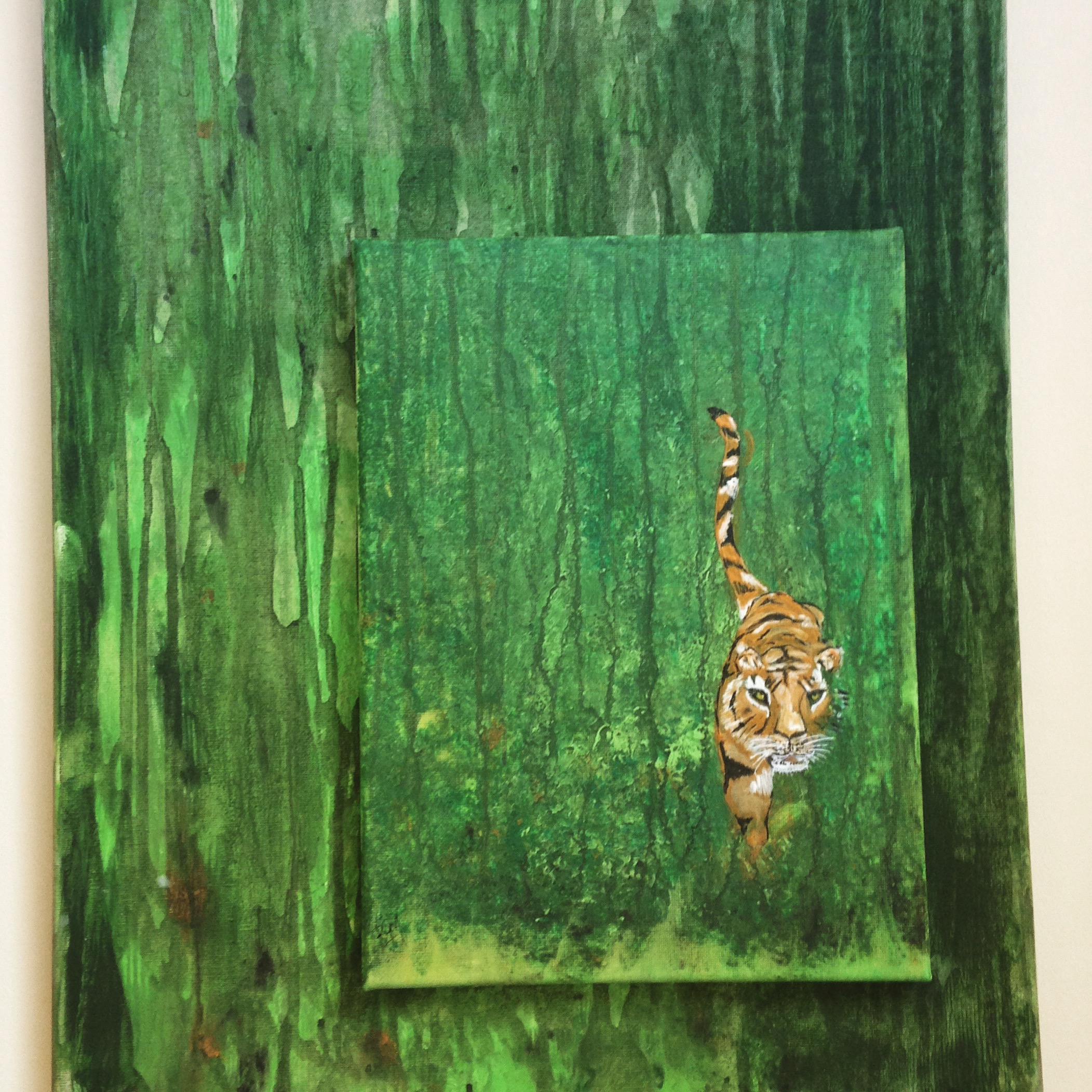 Tiger in the Jungle - For Sale