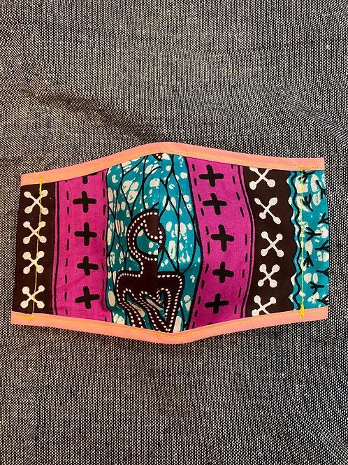アフリカ布マスク