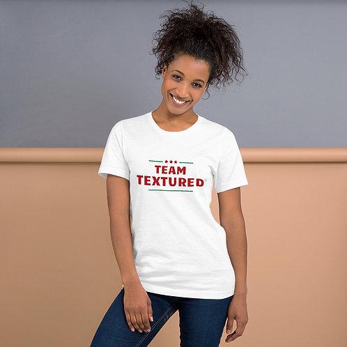 TEAM TEXTUREDユニセックスT-shirt