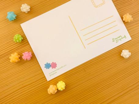 Konpeito Postcards - Back Digital 2020