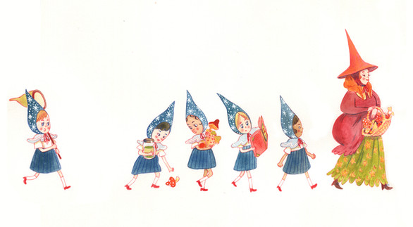 Little Line of Witches