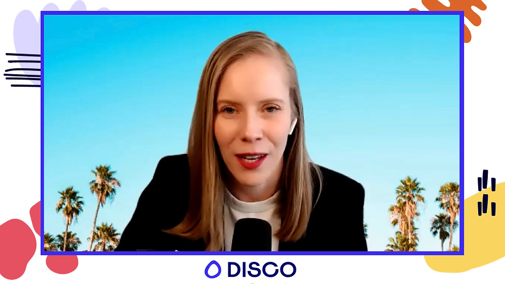 Gwen Elliot Joins Disco Creator sessions