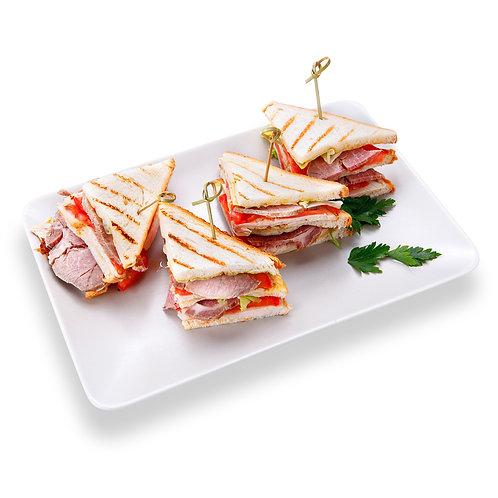 Мини сэндвичи с бужениной 4шт.