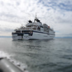 mobile laboratory cruise ship testing
