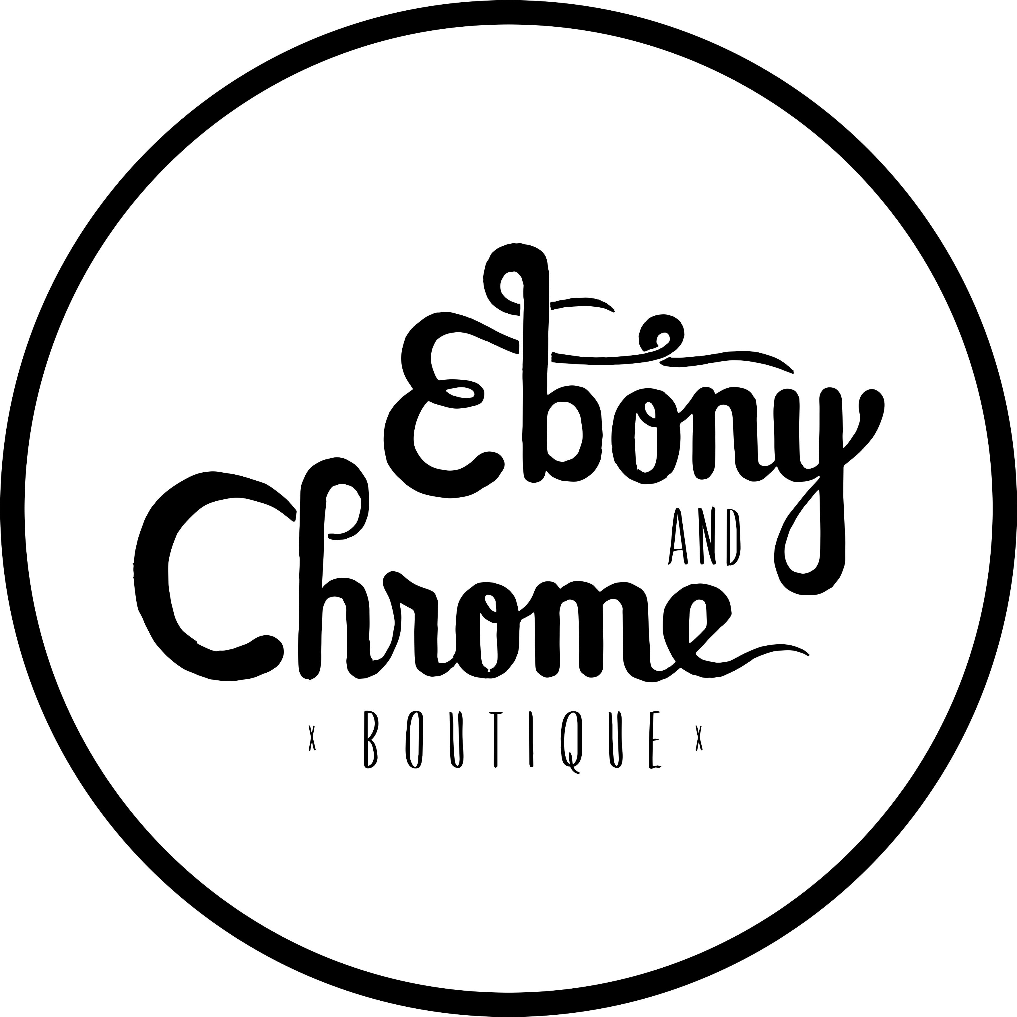 Ebony and Chrome