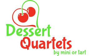 Dessert Quartets by mini or tart