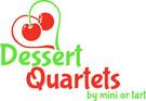 Dessert Quartets by mini or tart