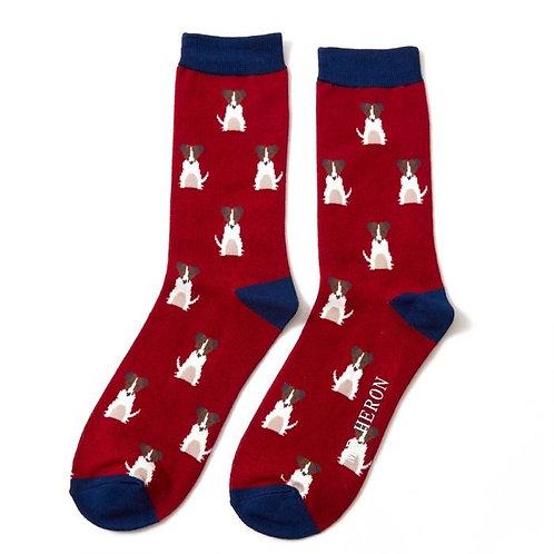 Mr Heron Mini Jack Russell Socks
