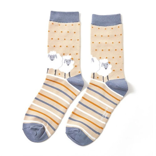 Miss Sparrow Sheep Socks