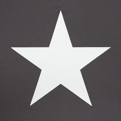 Chalk Tasha Top - Charcoal/White Star
