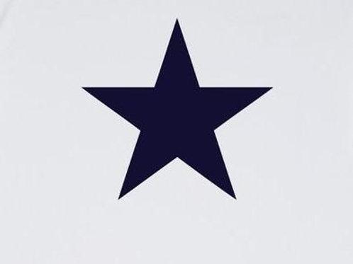 Chalk Tasha Top - White/Navy Star