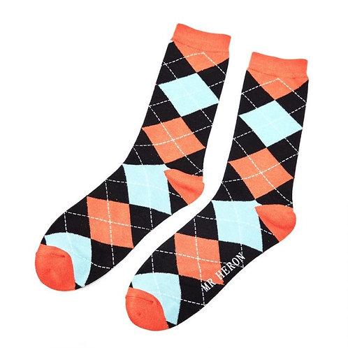 Mr Heron Argyle Socks