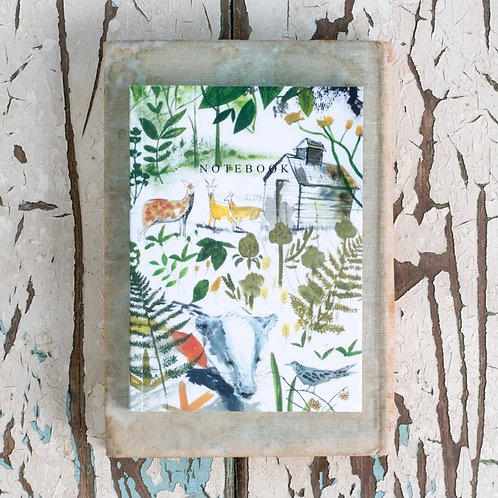 Sam Wilson A6 Notebook - In The Woods