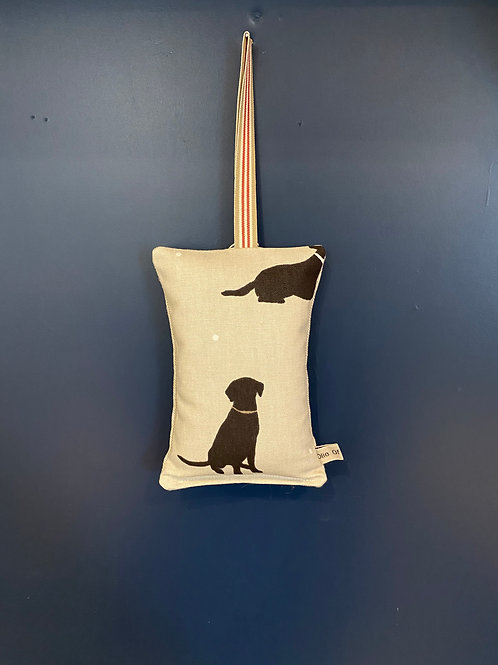 Lavender Sleep Pillow - Black Labradors